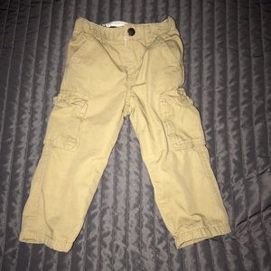 RUUM toddler boy's cargo lined pants size 18 month